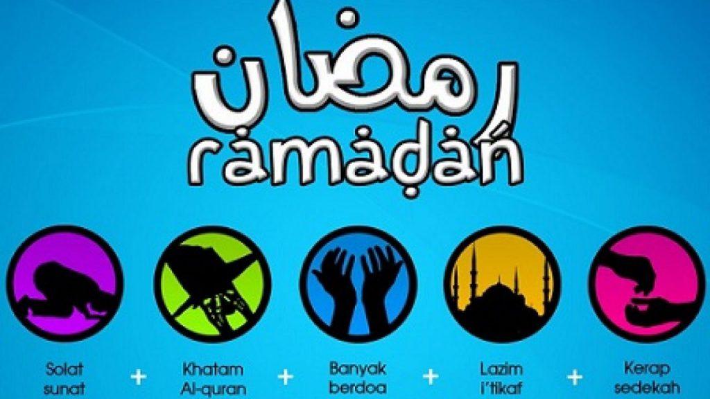 sunah di bulan ramadhan